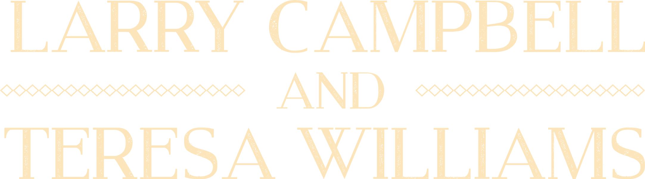 Official Website of Larry Campbell and Teresa Williams